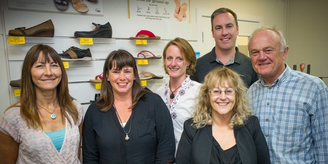 Podiatrists, Orthotics & Orthopaedic Shoes, Masterton Foot Clinic Team