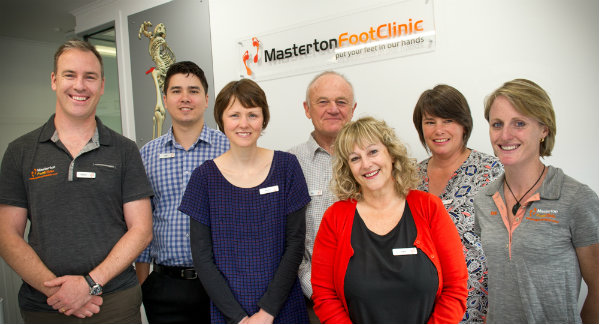 Masterton Foot Clinic Team