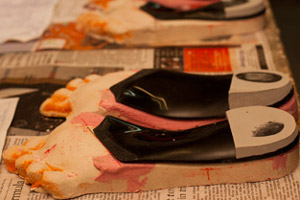 Creating orthotic insoles