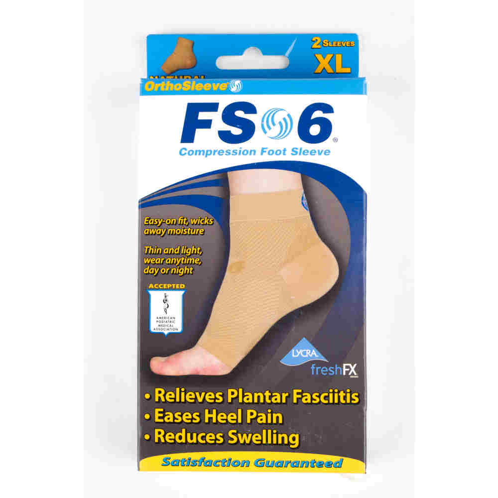 he FS6 Foot compression sleeve for Plantar Fasciitis